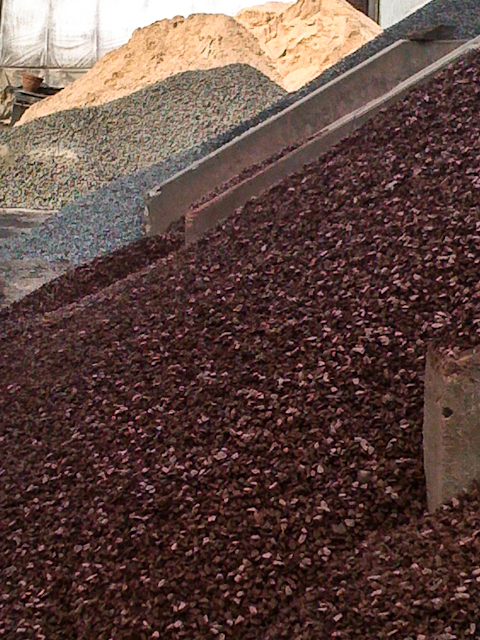 Gravels and sand