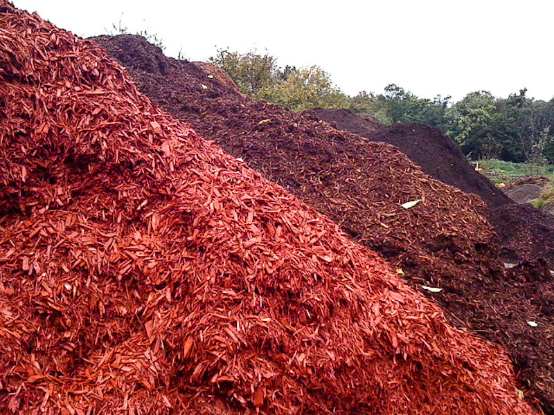 Cedar mulches