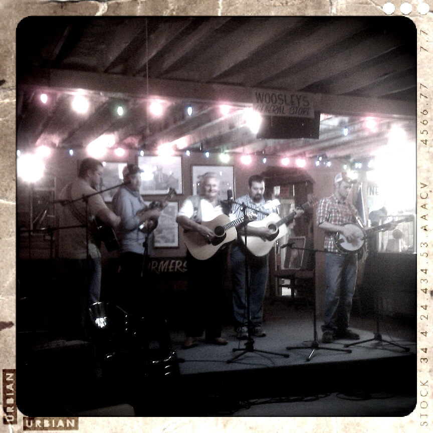 Friday night Bluegrass in Rosine, KY
