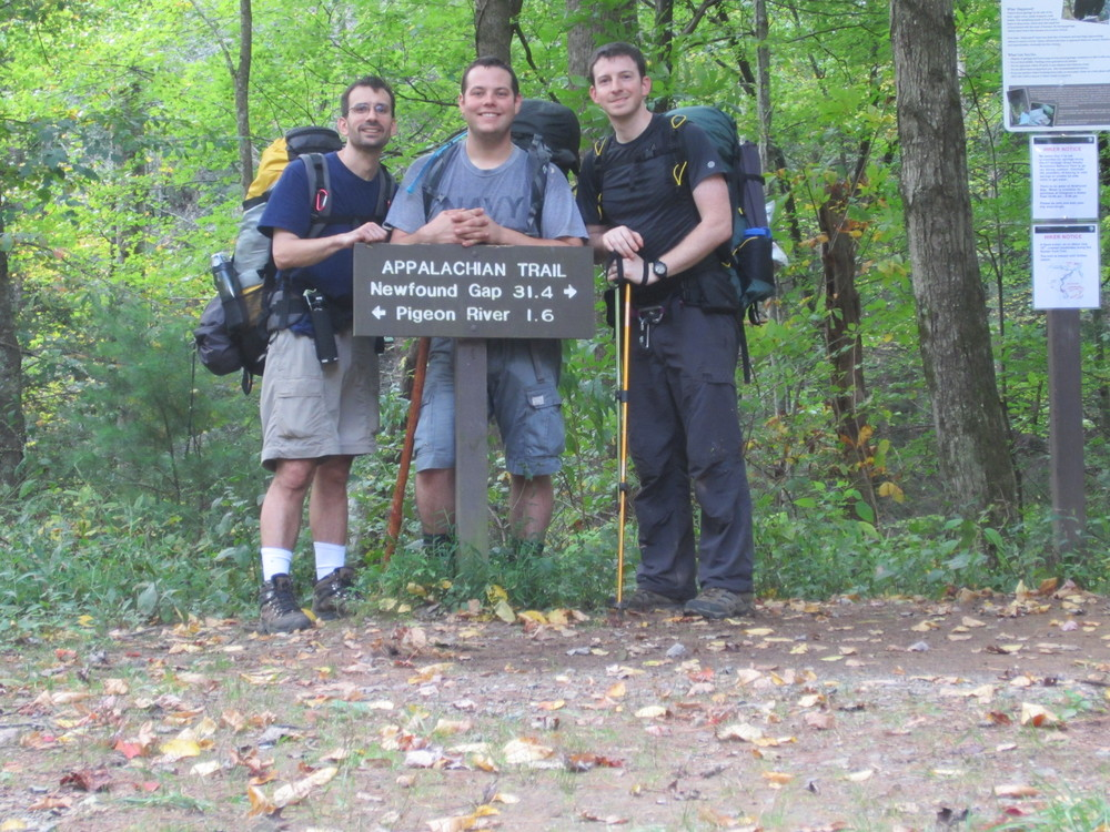 Appalachian Trail - Hot Springs, NC to Davenport Gap, NC