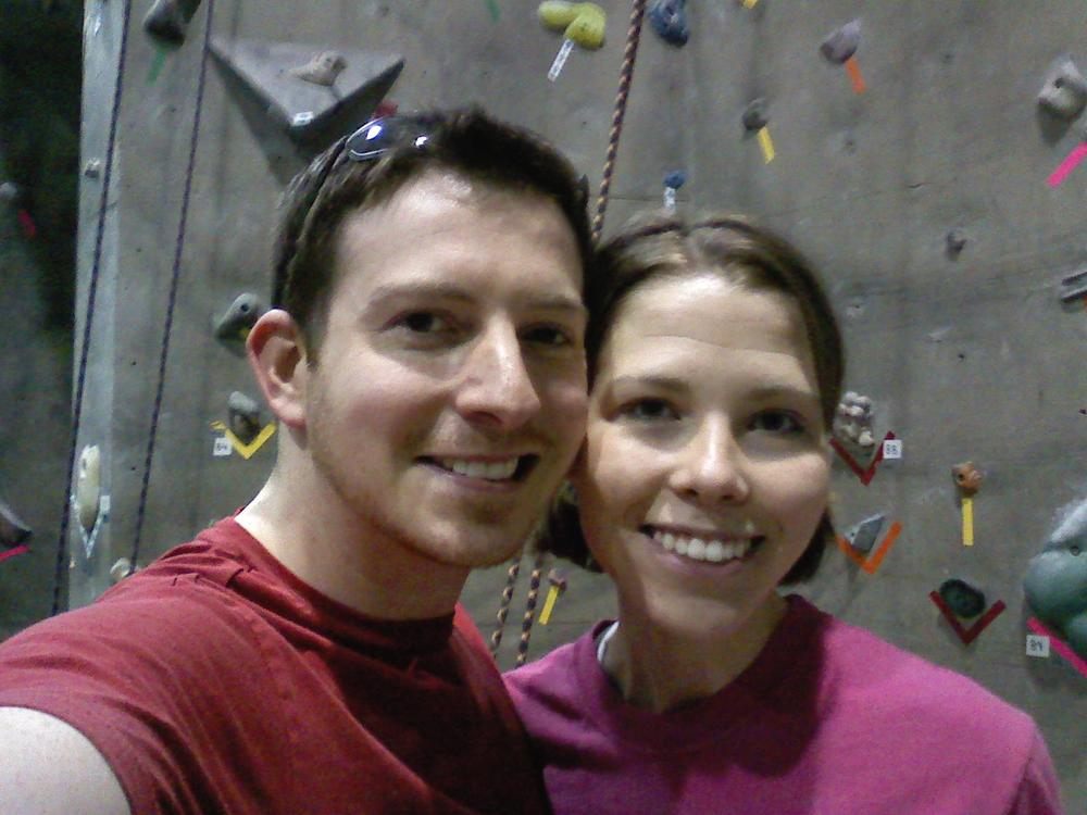 Why every couple should rock climb before getting married*