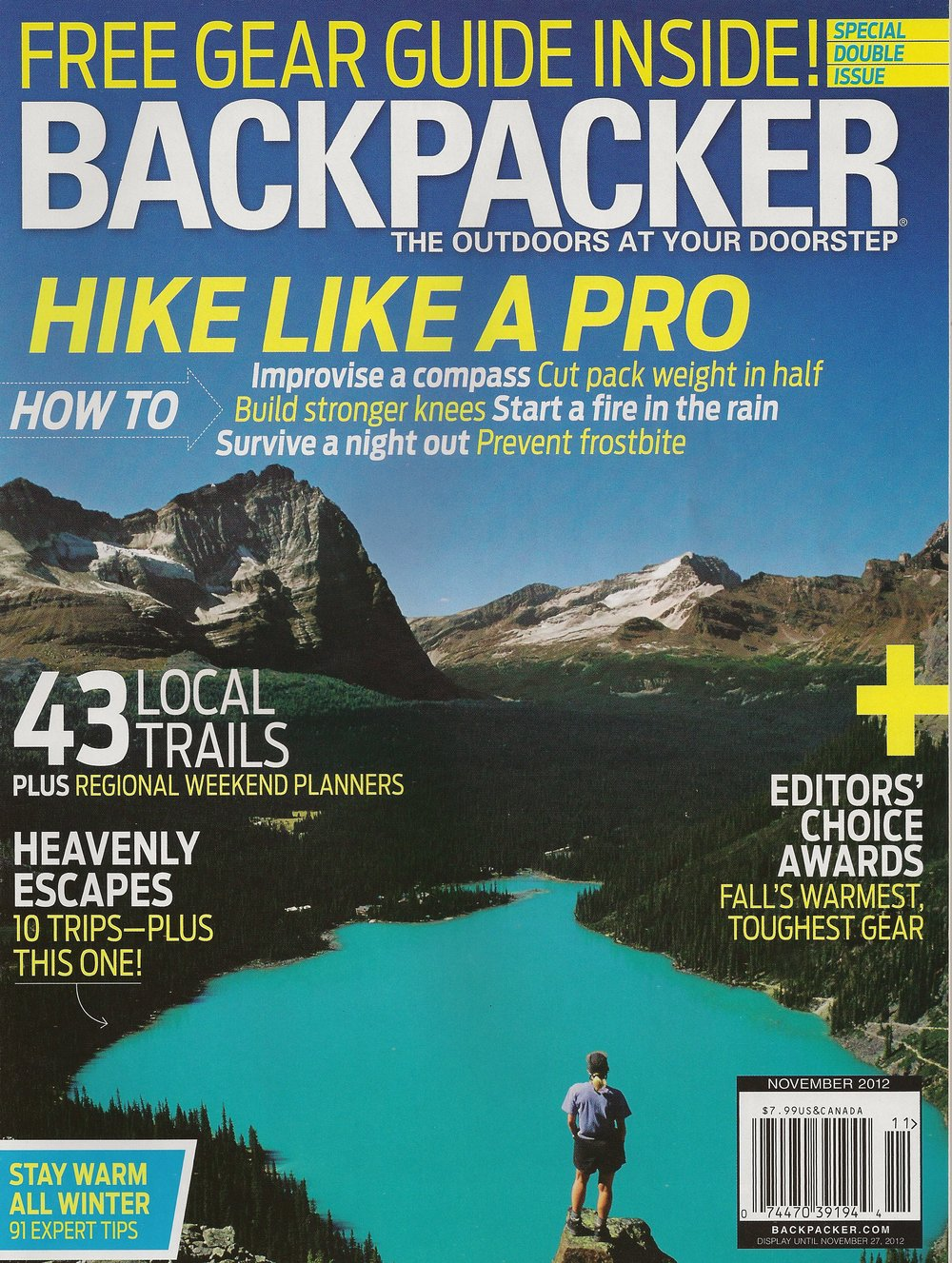 Land Between the Lakes BACKPACKER magazine  - August 2012