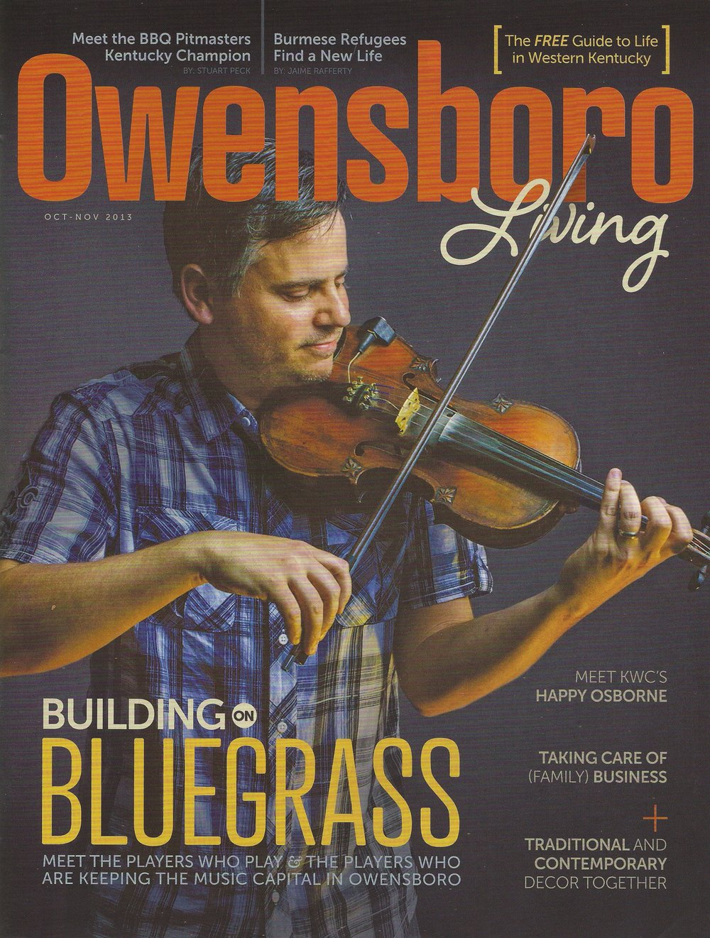Taking care of the (family) business.     Owensboro Living Magazine - October/ November 2013