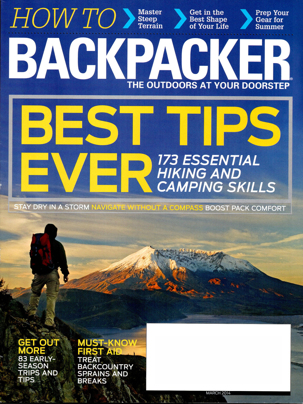 Birch Knob Trail   BACKPACKER magazine - March 2014