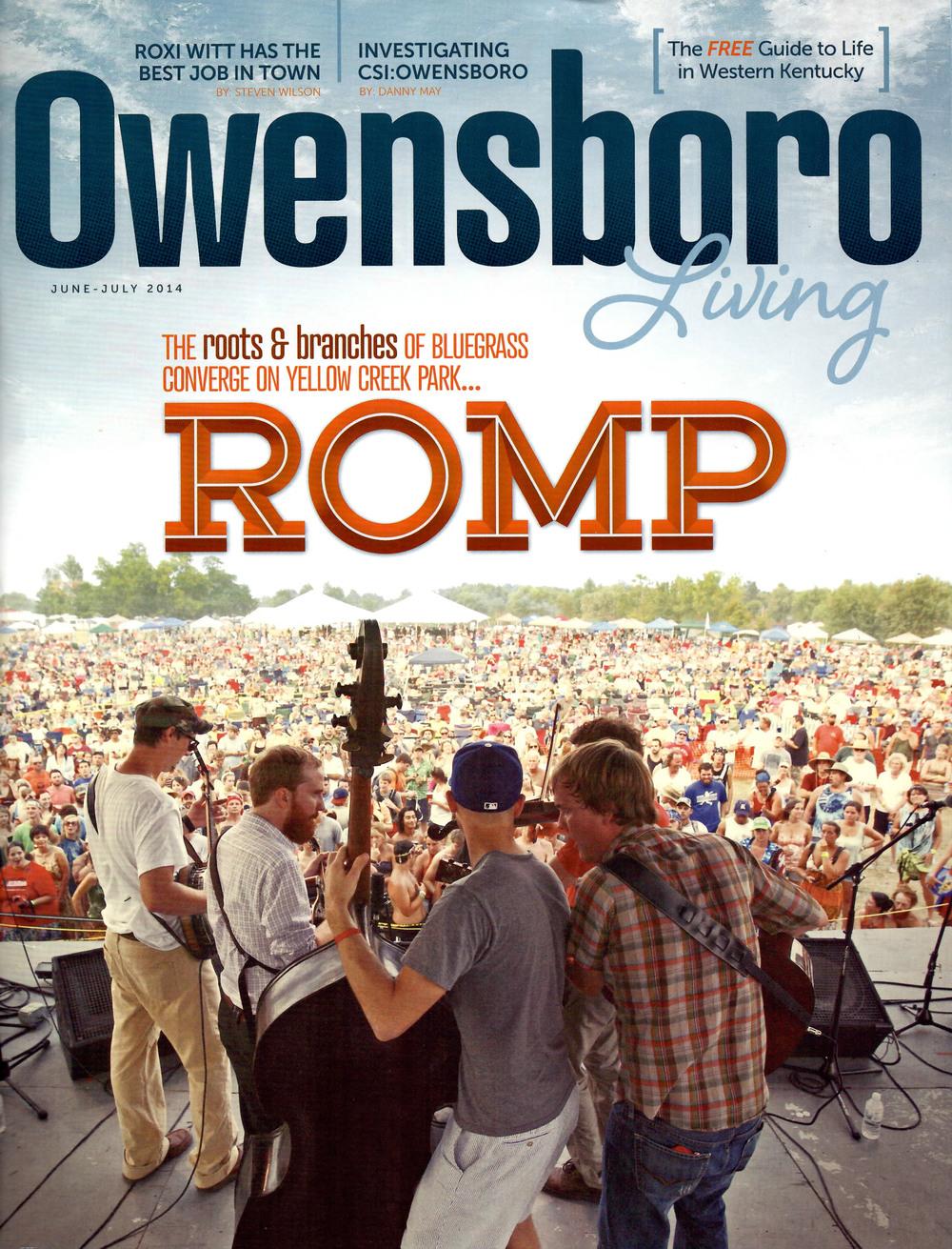 Owensboro Skate Park    Owensboro Living magazine - June 2014