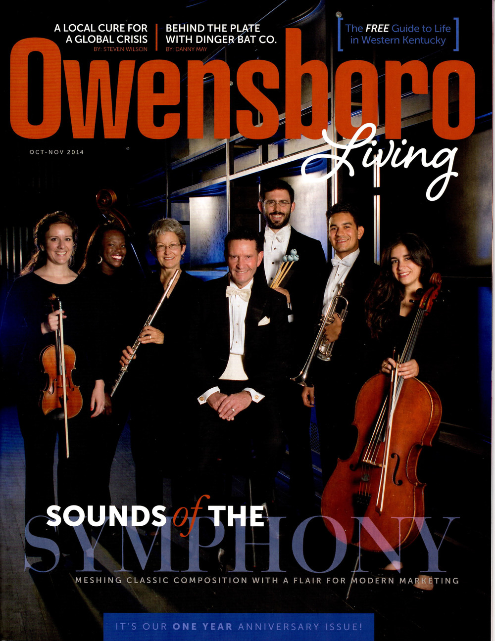 Volumes Of Blood Feature    Owensboro Living magazine - October 2014