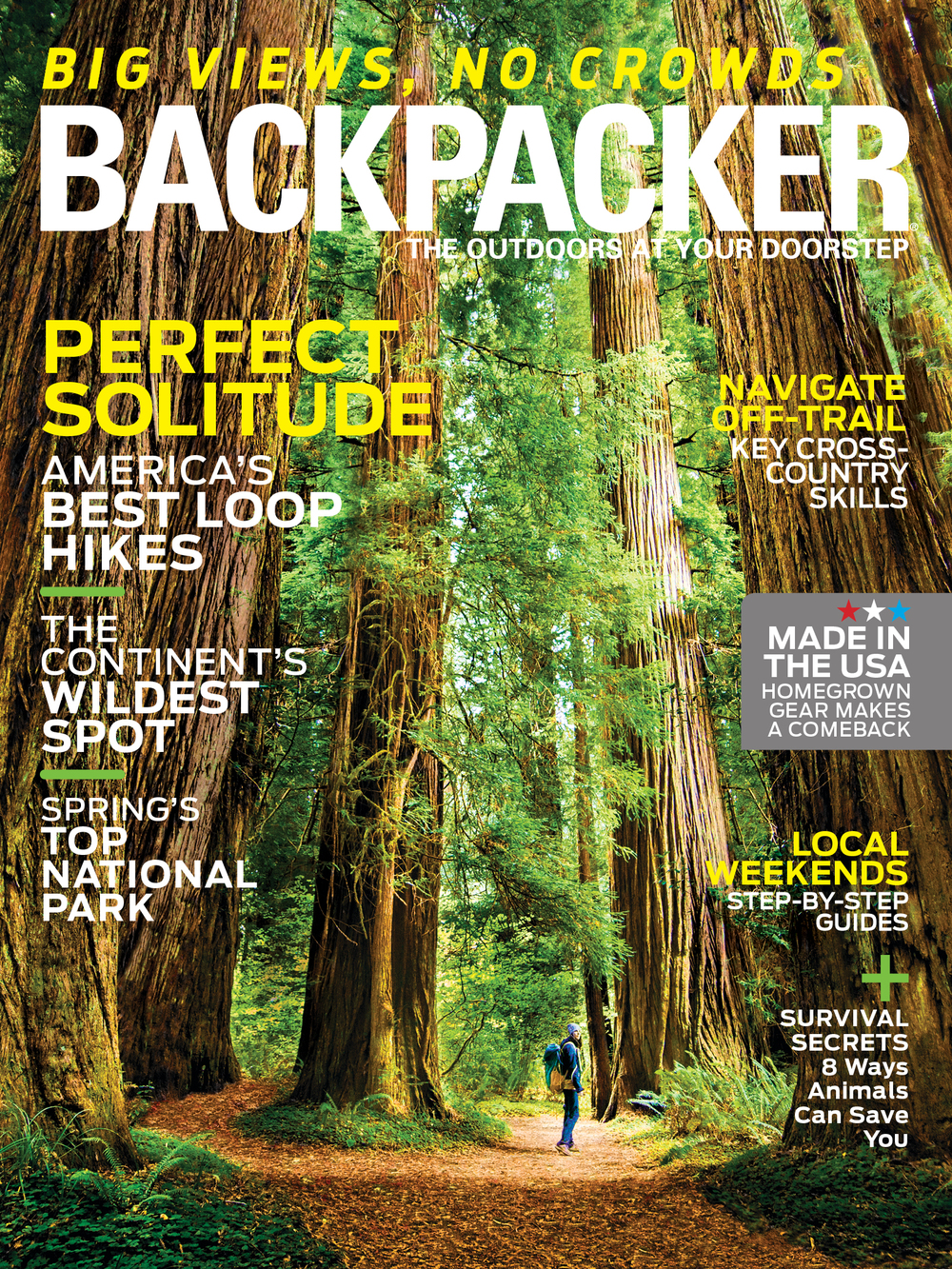 Bell Mountain Trail Backpacker Magazine - March 2015