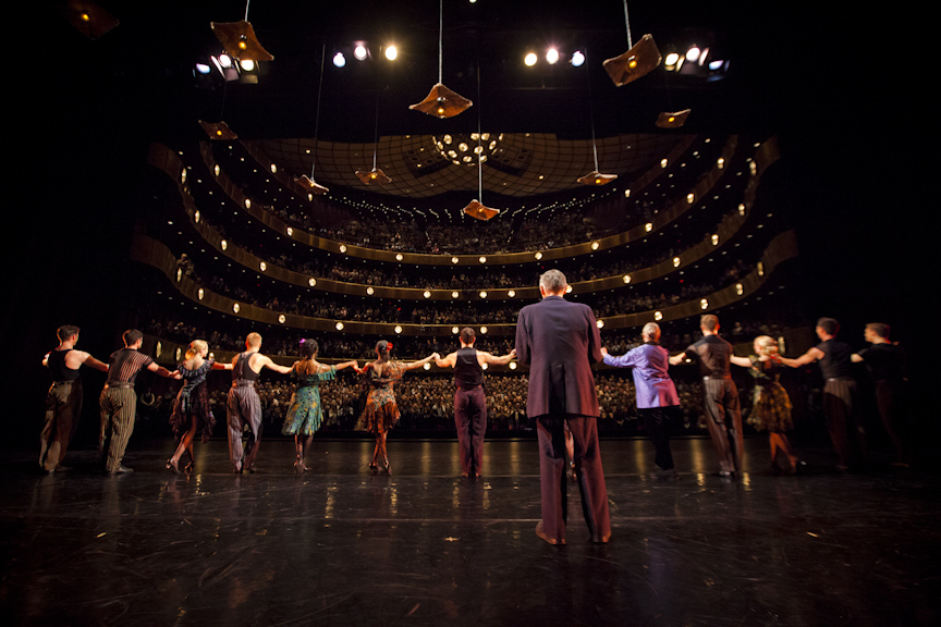 Standing ovation opening night last year.