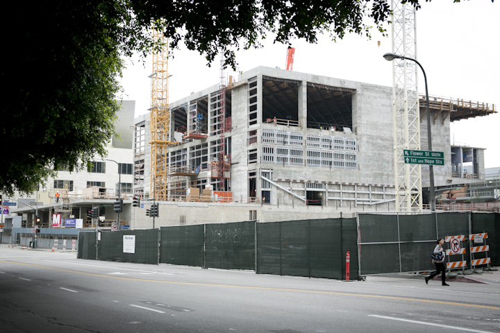 New art museum going up in downtown LA
