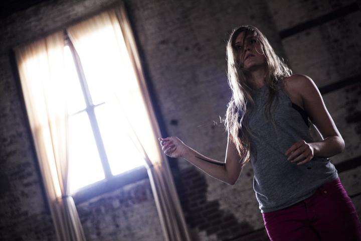 Choreographer and performer Kathryn Logan