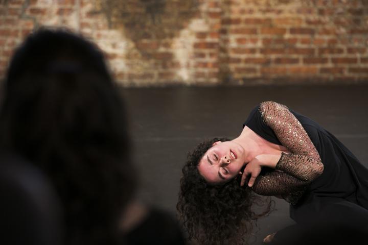 Choreographer and performer Sarah Hook