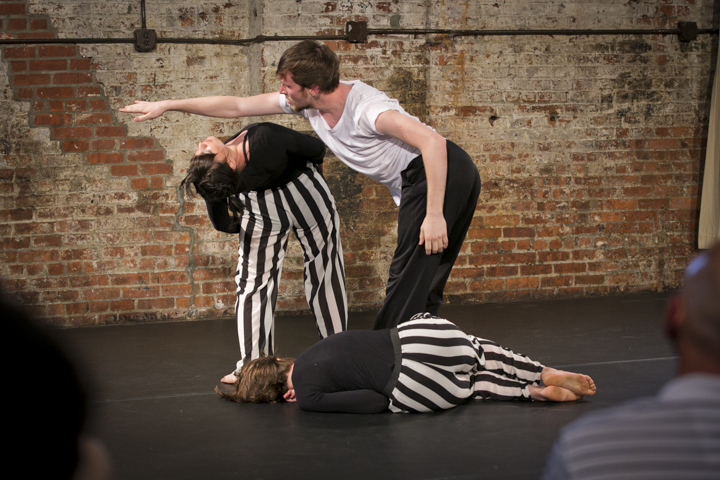 Choreographer Sarah Zehnder