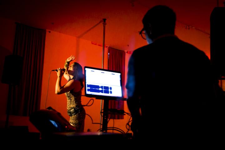 Singer Sierra Carrere and DJ Nabin a.k.a. Brooklyn Shanti