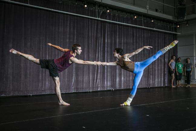 Sam Swanton and Alex Berger