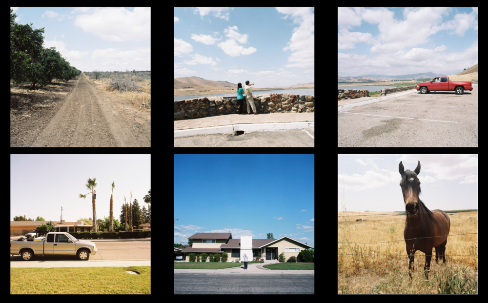 All events seen while driving around Porterville, CA. 2015