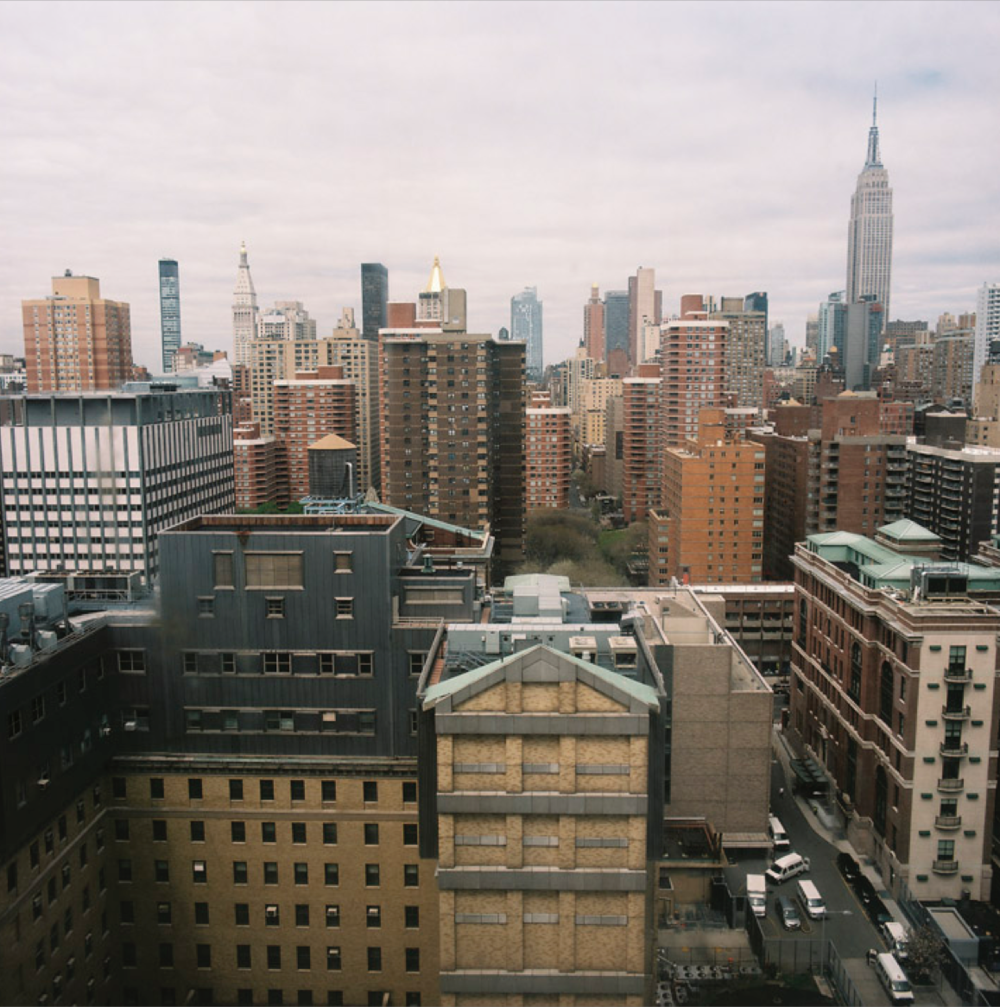 View from the 15th floor.