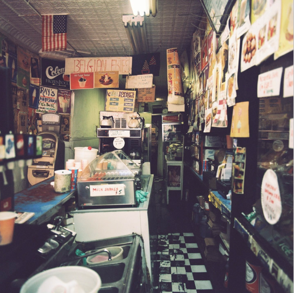 Shop Interior - Daytime 2016