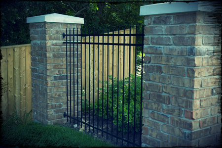Click through to see our full ornamental iron fence picture gallery