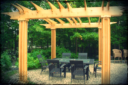 Click through to see our full pergola picture gallery