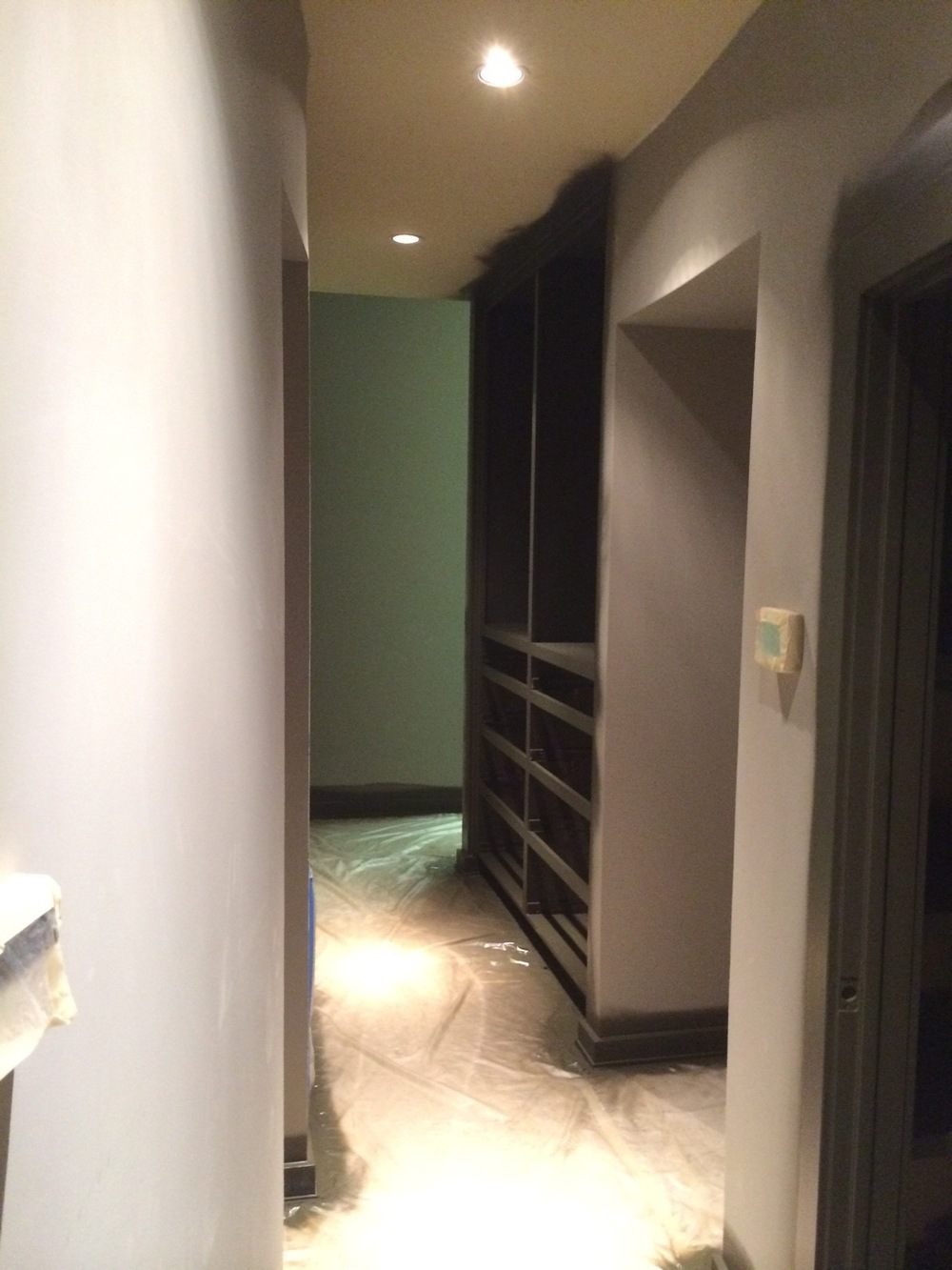 Passage to Dressing Room