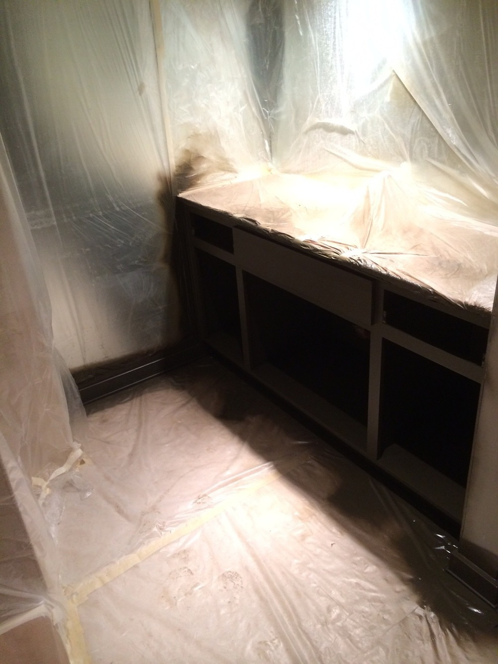 Cabinetry in Master Bath