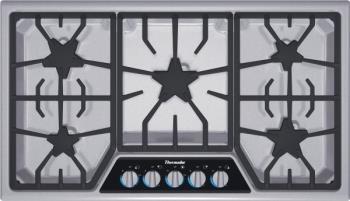 "Thermador 36"" cooktop"