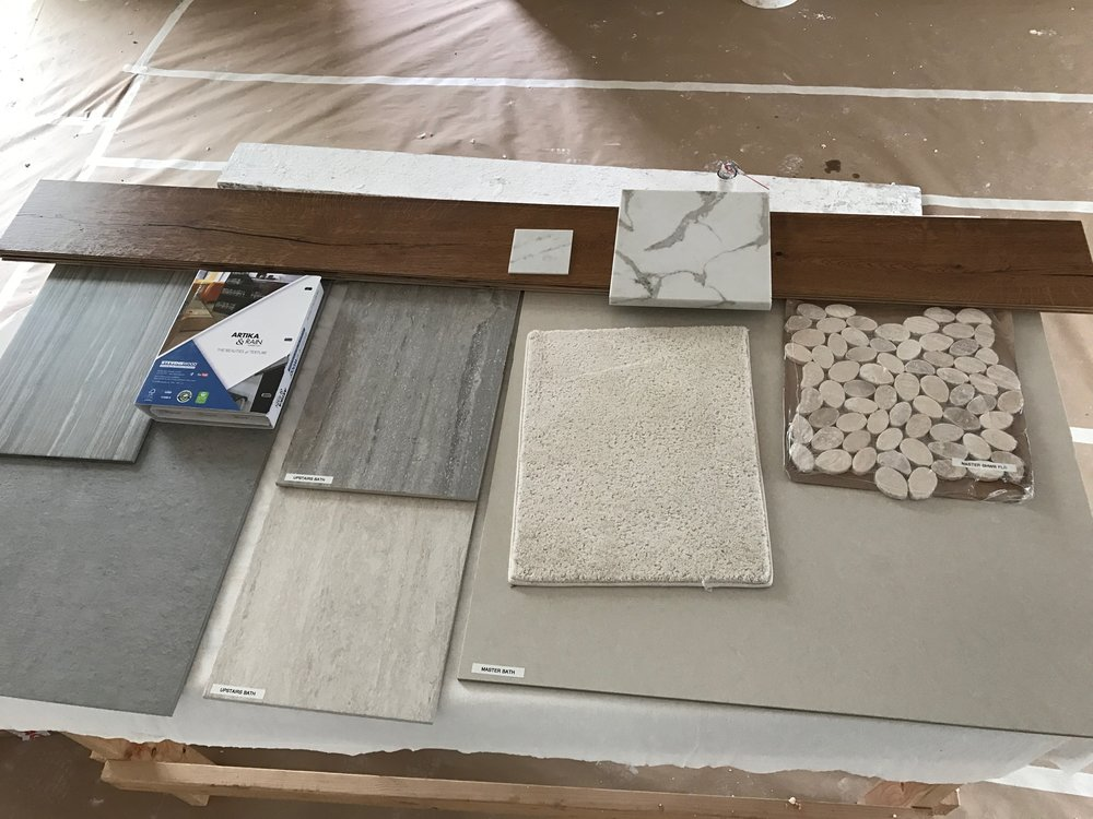 Flooring, tile and counter tops