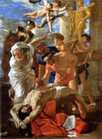 The Martyrdom of St. Erasmus   1628 Ottawa.jpg
