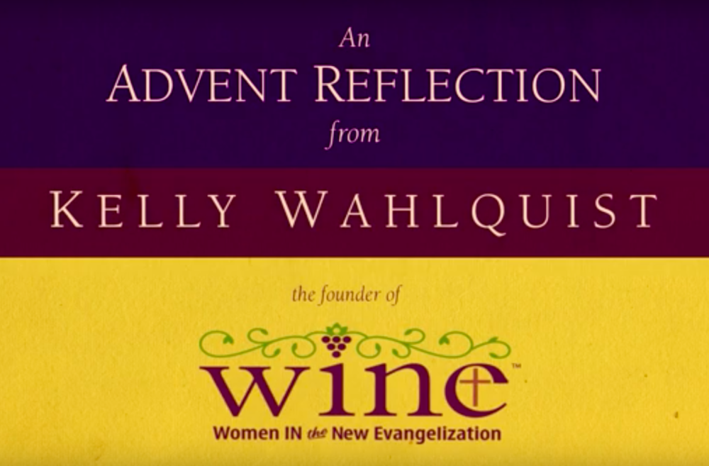 Second Week of Advent; A Reflection by Kelly Wahlquist