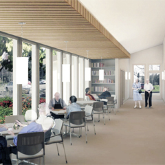 lacey senior center expansion -