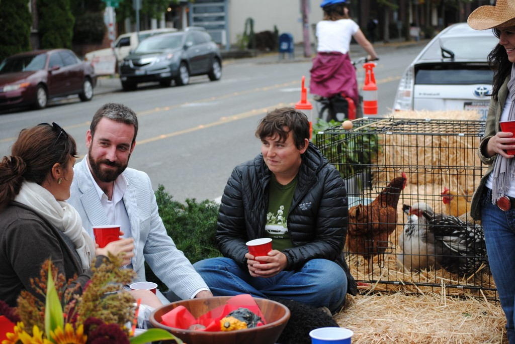 urban agriculture Park(ing) Day