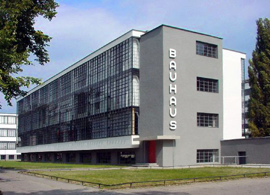 The Bauhaus (Source: Wikipedia)