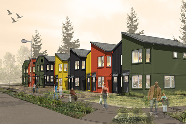 Modular buildings for Renton Housing Authority take shape ... on golf rain, home appliances rain, baby rain,