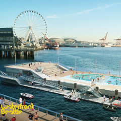 seattle pool barge -