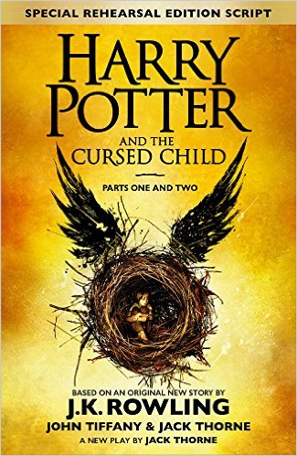"""""""It's currently doing its premier run at London's West End, but the script will be available on July 31 (Harry's Birthday) for those of us unable to make it across the pond for a live performance. I reread the HP series almost every summer and am so pleased to have some new material to supplement that journey!"""""""