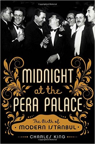 """My suggested read out of the 8 books I'm currently reading:  Midnight at the Pera Palace  is a book about the history of modern Istanbul. """