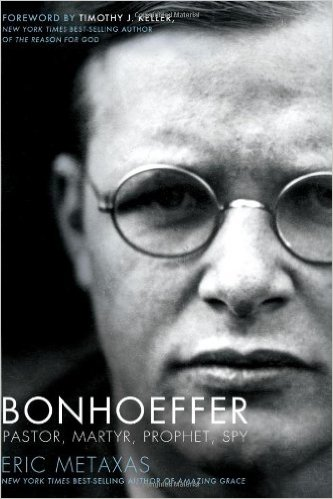 """""""Just getting into this, but it's a biography on a German citizen, Dietrich Bonhoeffer, who attempted to assassinate Adolf Hitler."""""""