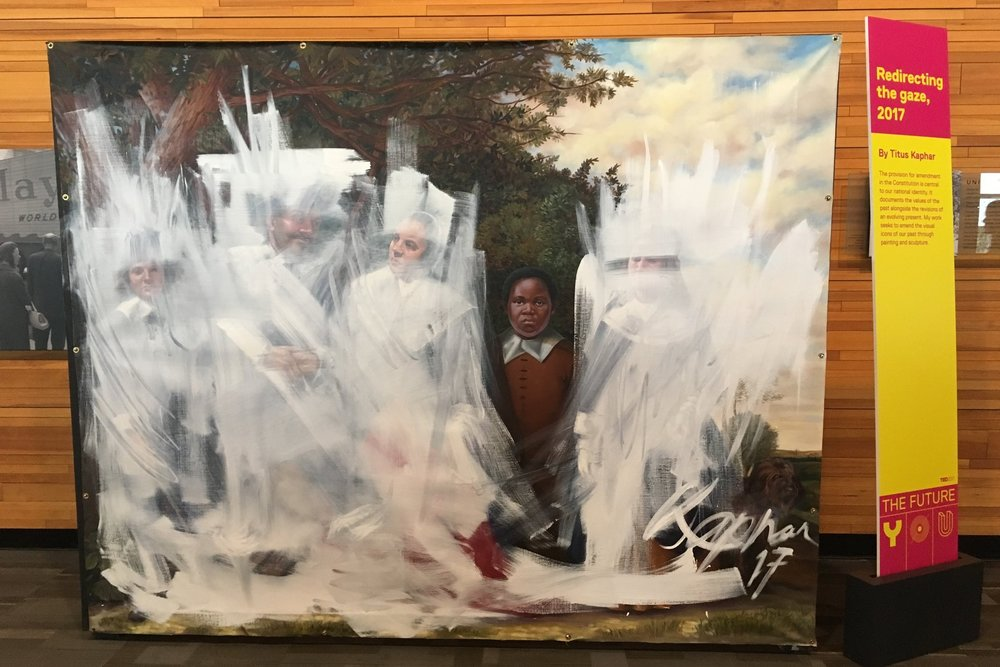 Titus Kaphar's work at TED