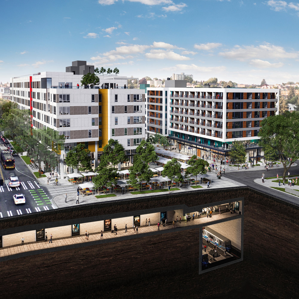 capitol hill transit oriented development -