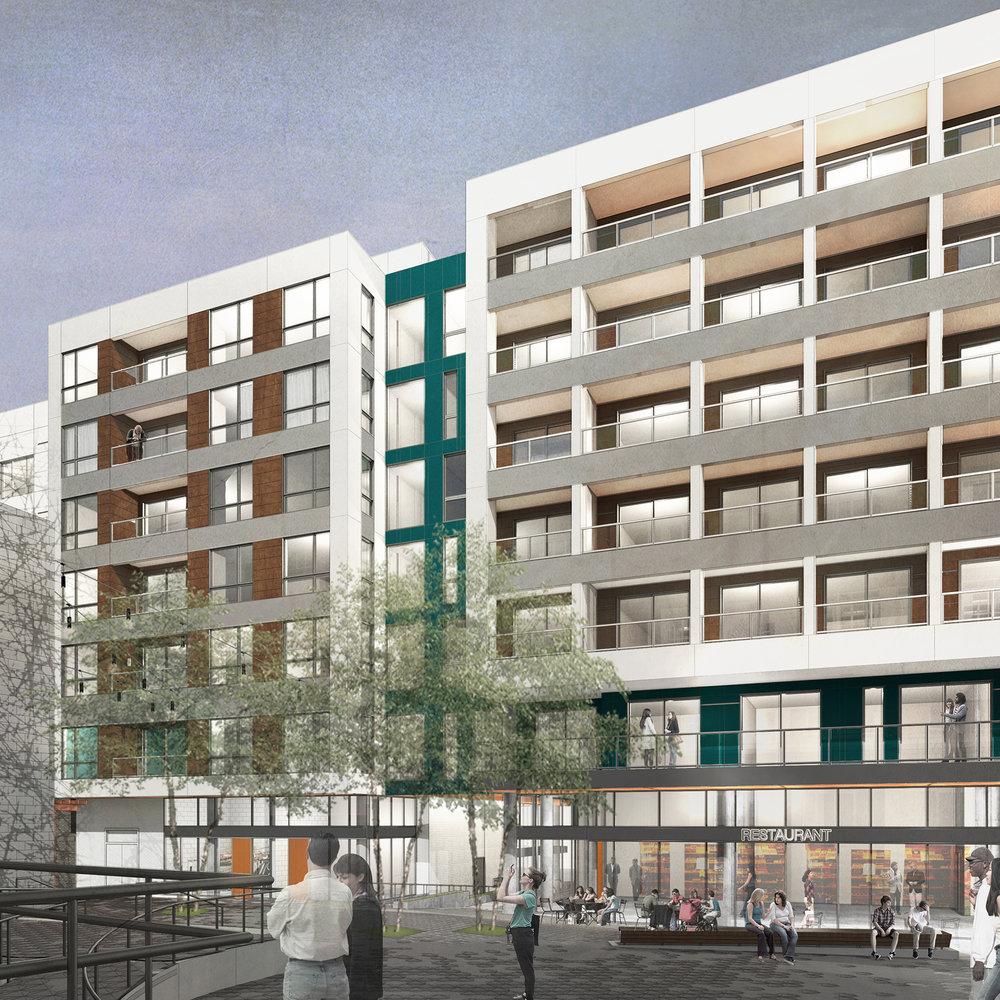 capitol hill tod apartments -