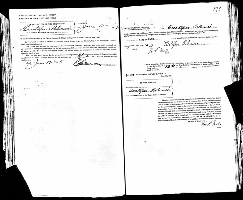 Petition of Christofaro Palmieri  1905  pg2 s.jpg