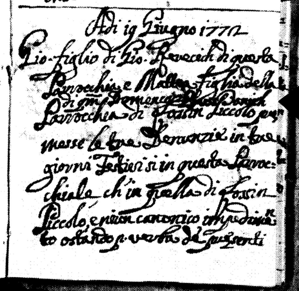 1772 Mar Giovanni Rerecich and Mattea Picinich crop sm.jpg