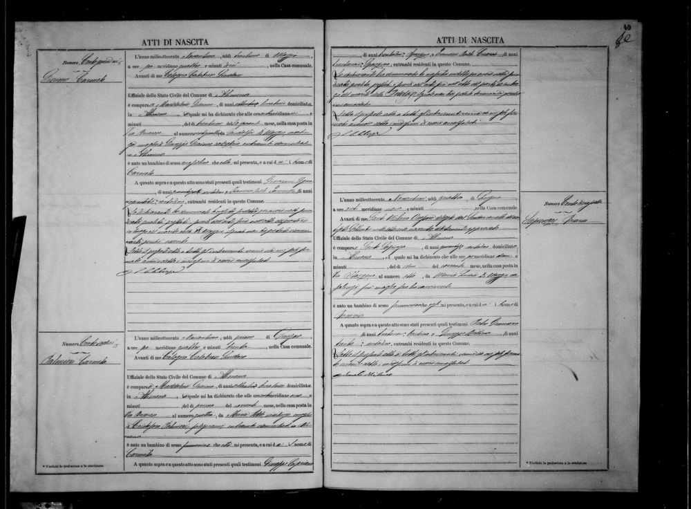 Palmieri  Carmela Palmieri Birth 1891.jpg