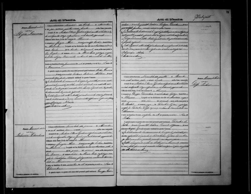 Palmieri Cherubino Palmieri Birth record 1893.jpg