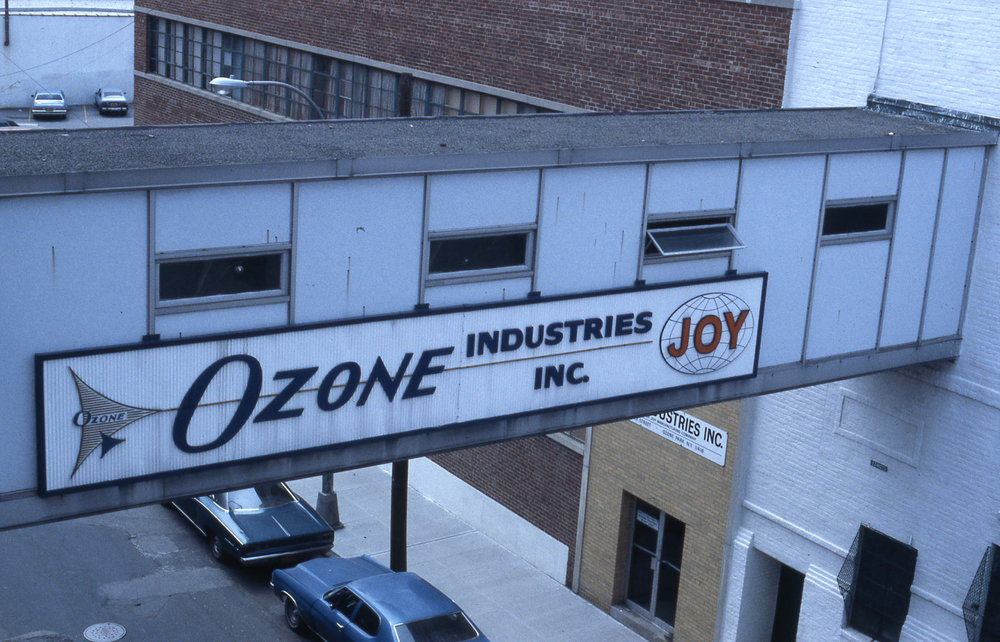 Ozone Industries - bridge across 101st street , ozone park Queens NY.