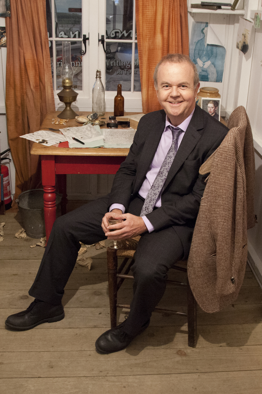Journalist and satirist Ian Hislop.
