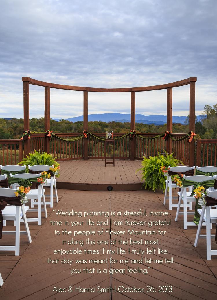 About us flower mountain weddings receptions stress free wedding venueg junglespirit Images