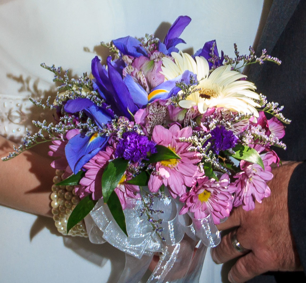 "Wildflower mix bouquet. ""Purples"""