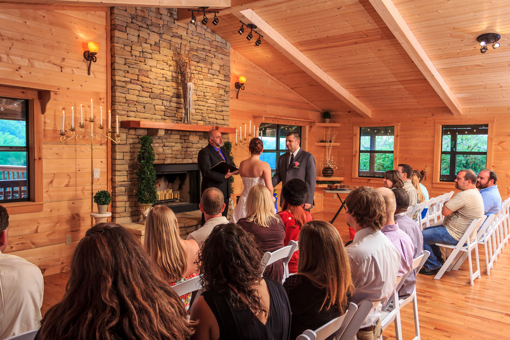 Ceremony And Reception Venues Flower Mountain Gatlinburg
