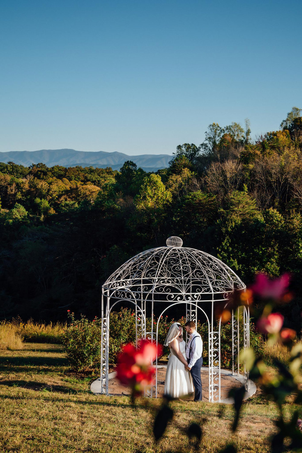 Gazebo at Flower Mountain
